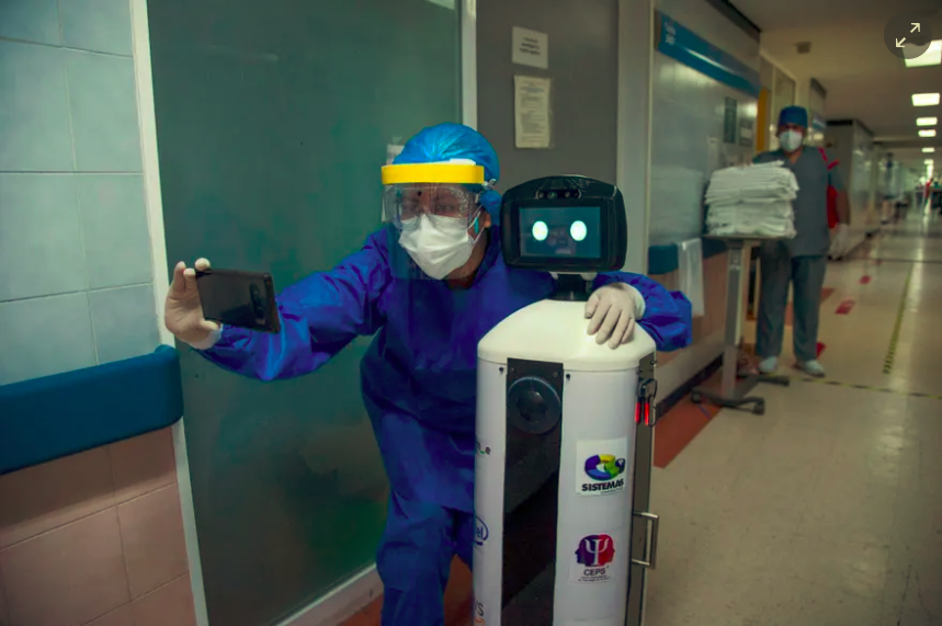 Would You Let A Robot Take Your Blood Sample?
